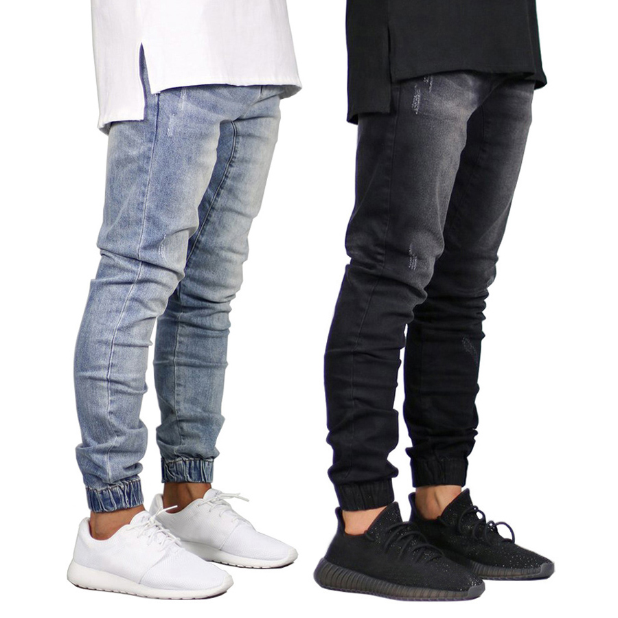 2018 Men   Jeans   Design Fashion Joggers   Jeans   For Men H8710