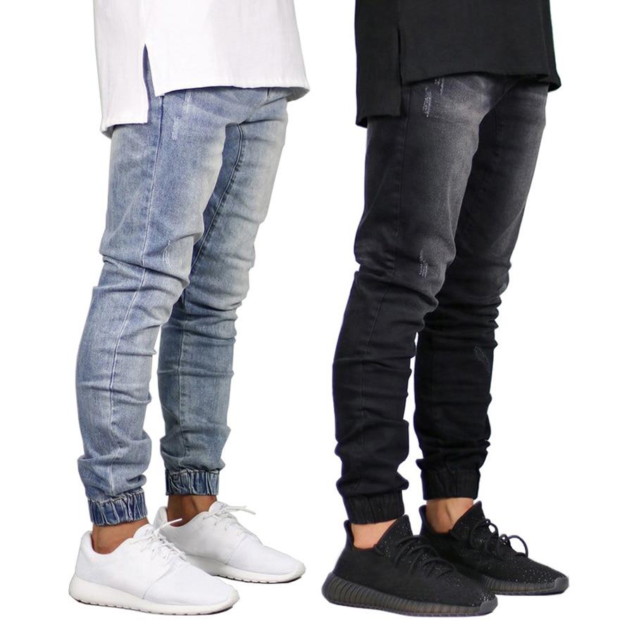 2018 Men   Jeans   Design Fashion Joggers   Jeans   For Men H8710