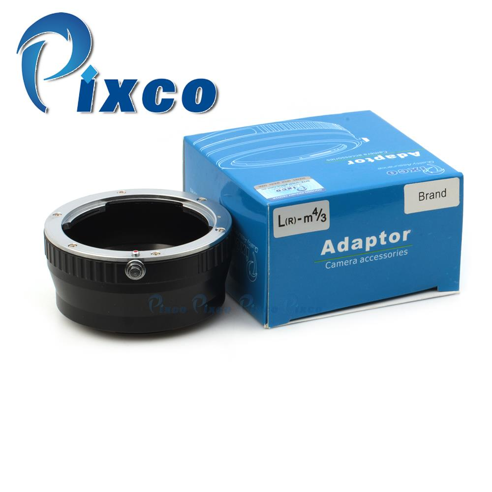 Pixco Lens Adapter Ring Suit For Leica R Lens To Micro 4/3 EP3 EPL3 GH3 GF3 GF5 GX1 GH3 G5 GF5 GF3 GH2 EPL5 EPM2 EPL2 EP1 Camera