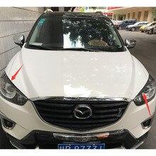 CX-5 углерода Волокно фар век отделкой фары брови для Mazda CX5 2012 2013 2014 2015 2016