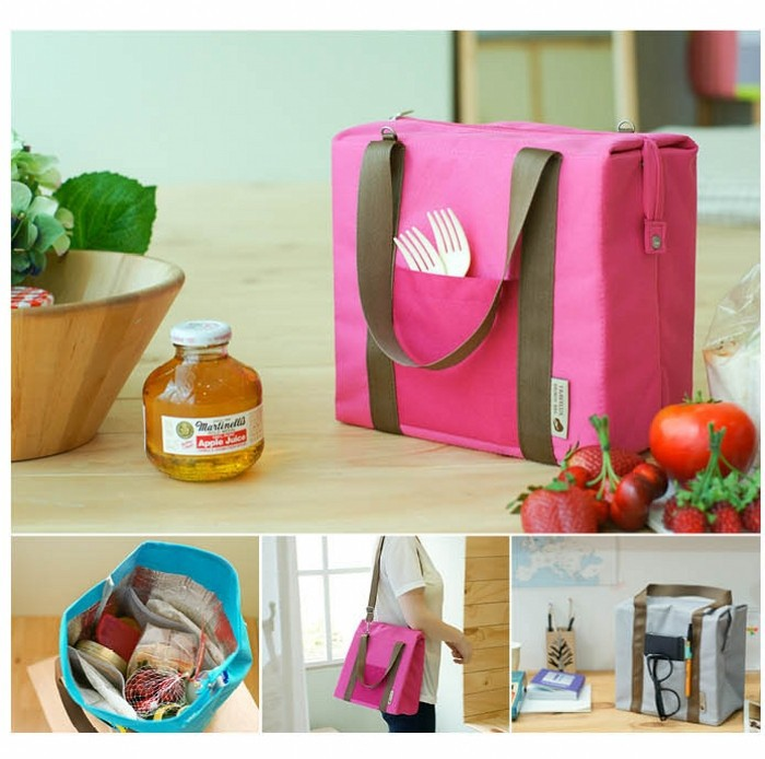 Aliexpress.com : Buy Women portable shouder insulated lunch bag ...