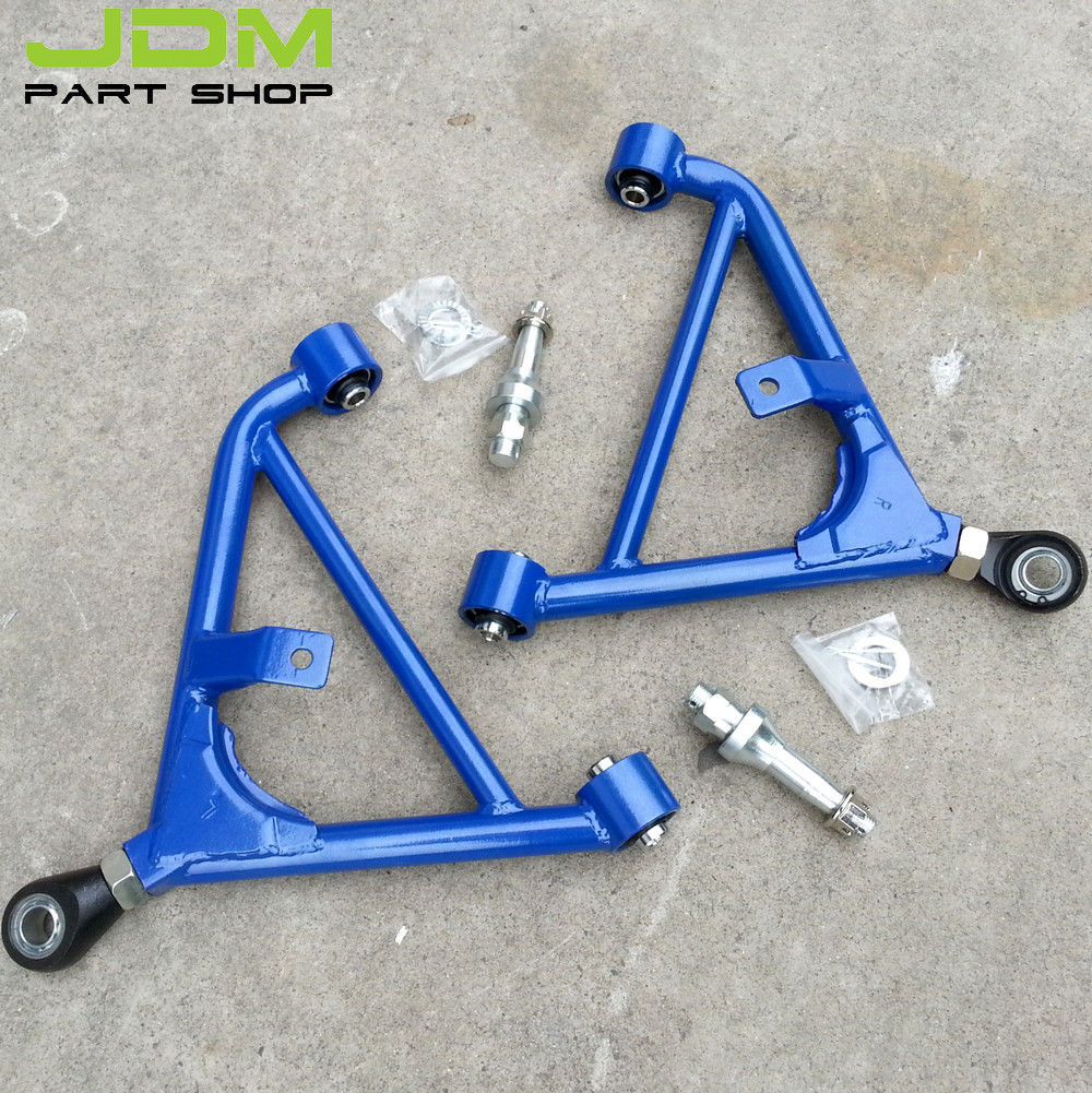 Adjustable Rear Lower Suspension Control Arms For 89 94