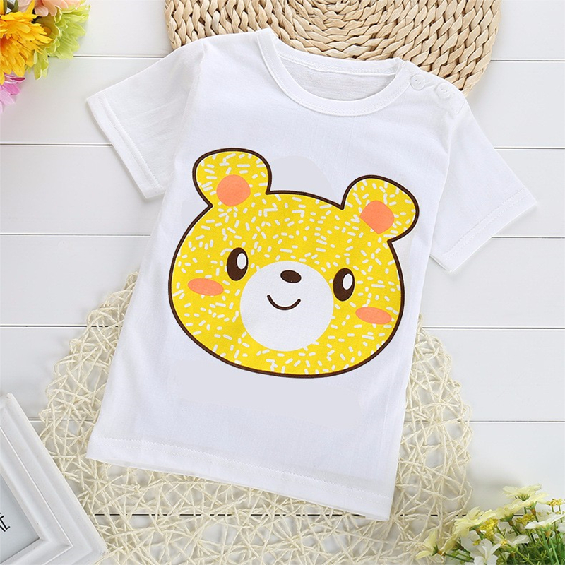 FHADST-2017-Active-Baby-Boys-Girls-T-shirt-Short-Sleeve-O-Neck-100Cotton-tees-Kids-Summer-White-Clothes-Character-Cute-monkey-1