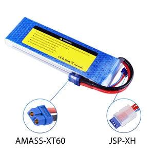 Image 4 - SEASKY 2S lipo batterie 7,4 v 6000mAh 60C RC batterie lipo 7,4 V Batterie XT60 für FPV drone auto