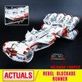 2017 Nueva LEPIN 05046 1748 Unids Estrella Guerra Tantive IV Rebel Blockade Runner Modelo Kit de Construcción de Bloques de Ladrillos de Juguete de Regalo 10019