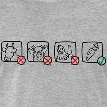 """Vegan's choice"" cotton O-Neck men's T-shirt"