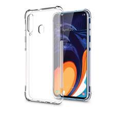 Anti Skid Soft Transparent Shock Absorption TPU Phone Case For Samsung Galaxy A60 Fall Shell