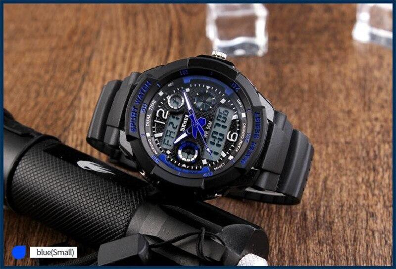 casual quartzo relógio digital esporte relógios de