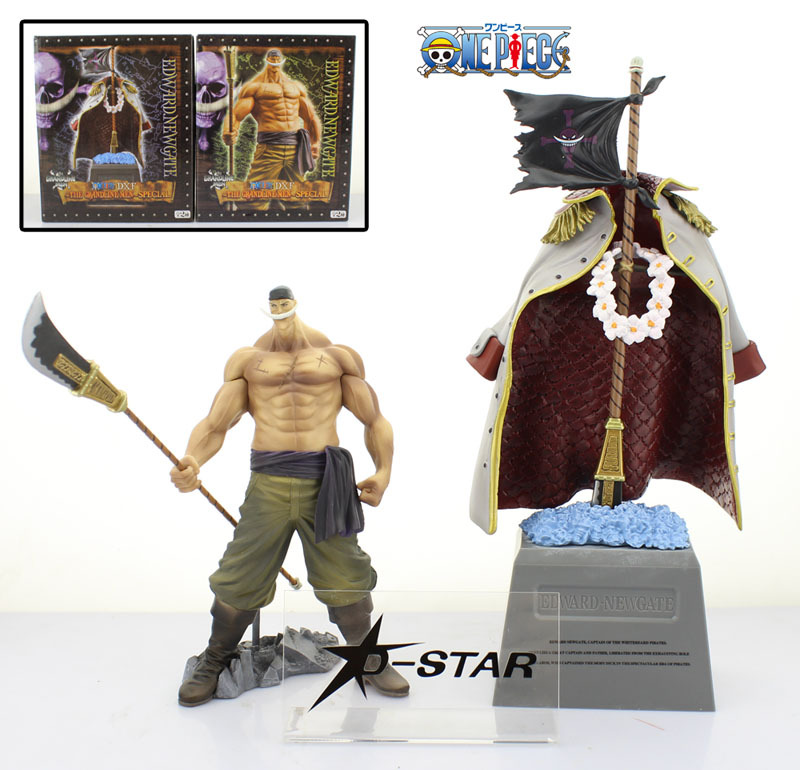Free Shipping One Piece Anime 8 Whitebeard - Edward Newgate + 12 Tombstone Set Boxed PVC Action Figure Collection Model Toy free shipping japanese anime one piece pop dx blackbeard edward teach pvc action figure model collection toy opfg176