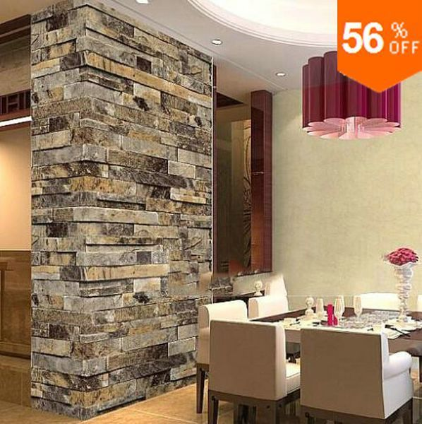 novelty stone wallpaper modern stone brick wallpaper brick wall 3d,