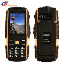2 шт./лот dtno. Я A9 русская клавиатура 4800 мАч батареи IP67 Водонепроницаемый ударопрочный телефон dual sim карты мобильного сотовые телефоны fm PK XP7