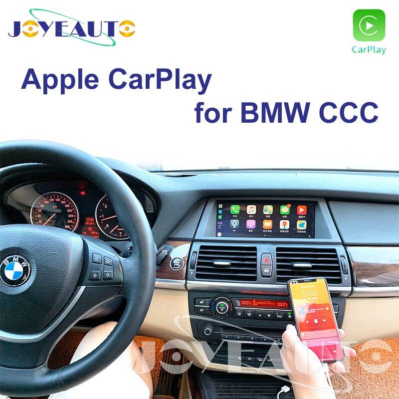 Joyeauto CCC Apple Carplay Modification 1 3 5 6 7 sertes X1 X3 X5 X6 Z4 E60 E61 E62 E63 E70 E71 E8 pour BMW soutien Caméra de Recul