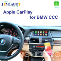 Joyeauto CCC Apple Carplay Retrofit 1 3 5 6 7 sertes X1 X3 X5 X6 Z4 E60 E61 E62 E63 E70 E71 E8 for BMW support Reverse Camera