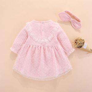 Image 2 - חדש נולד תינוקת בגדי שמלות ילדות קטנות בגדי סטים 0 3 חודשים יילוד ילדים סתיו חורף 2018 vetement enfant fille 6