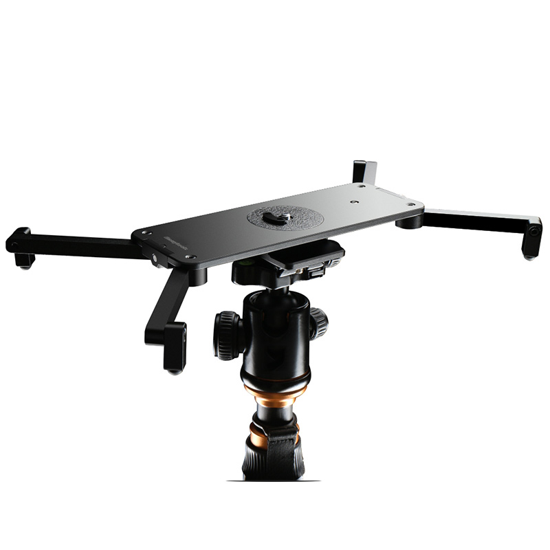 EASYLOCK Baixo Stand Blacket Macro Pista Rail para DSLR Câmera de Vídeo