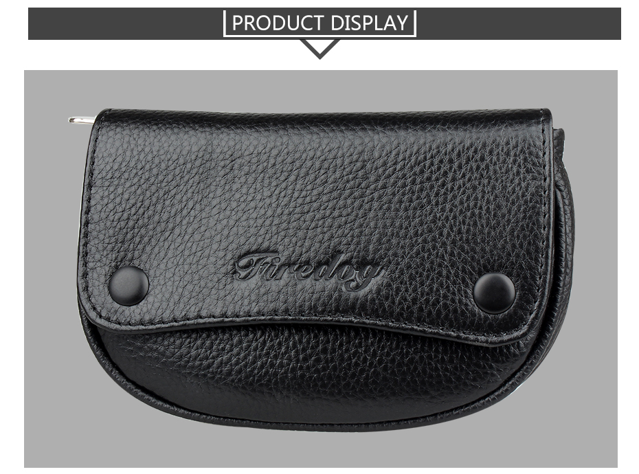 Genuine leather tobacco pouch 6