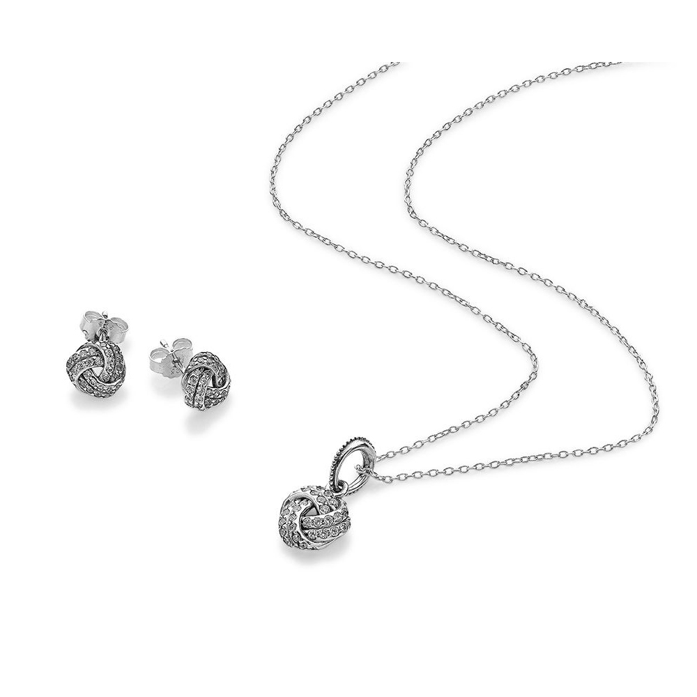 NEW 100% 925 Sterling Silver 1:1 Genuine Mothers Day Zircon Twist Stud Earrings Pendant Necklace Glamour Womens Jewelry SetNEW 100% 925 Sterling Silver 1:1 Genuine Mothers Day Zircon Twist Stud Earrings Pendant Necklace Glamour Womens Jewelry Set