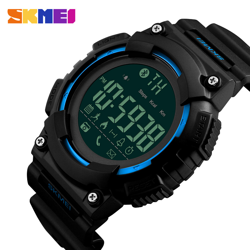 SKMEI Heren Smart Watch Android stappenteller Sport Horloges Bel APP - Herenhorloges