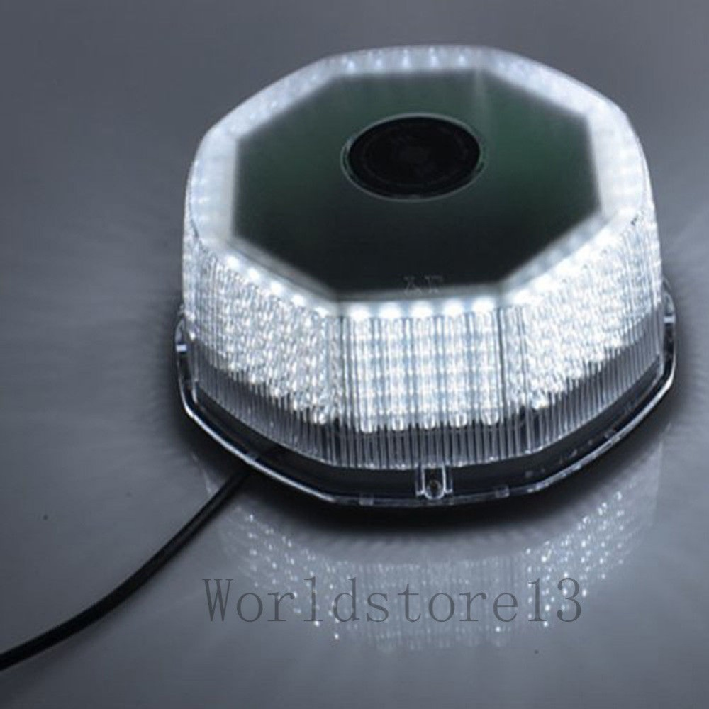 ФОТО 240 LED Beacon Light-White Emergency Vehicle Strobe Lights Bar