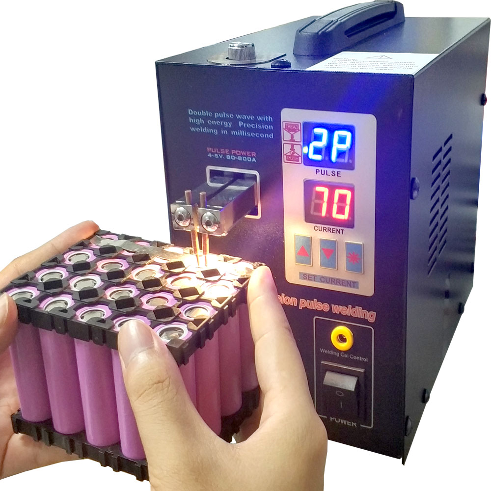 SUNKKO 737G Battery Spot welder 1.5kw LED light Spot Welding Machine for 18650 battery pack welding precision pulse spot welders 3 2kw led pulse battery spot welder 709a spot welding machine for 18650 battery pack spot welding 1 set tester 1set s 31