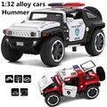 1:32 сплава cars, Hummer концепт-кар высокая имитационная модель, металл diecasts, игрушечных автомобилей, вытяните назад и мигать и музыкальные, бесплатная доставка