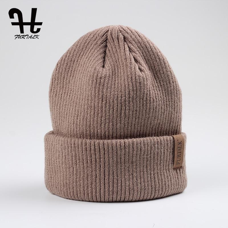 FURTALK Spring Autumn Women's Hat Wool Knit   Beanie   Hat Cuff   Beanie   Watch Cap for Girls Spring Skull Hats for Women