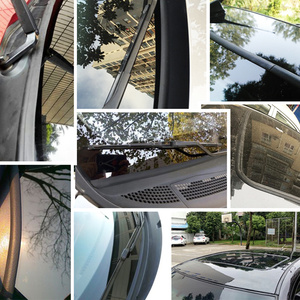 Image 5 - 3M Car sunroof seal sticker for Land Rover LR4 LR2 Evoque discovery 2 3 4 freelander 1 2 AUTO Accessories