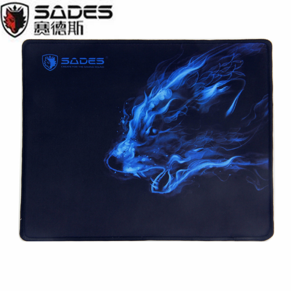 SADES Super Large Size Thick Gaming Mouse Pad Trendy Anti Slip Home Office Notebook Computer Playing