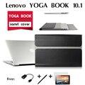 Para Lenovo YOGA pacote de casos de couro LIVRO Em um tablet 10.1 polegada manga Clássico de Alta qualidade PU leather case Livro cobrir