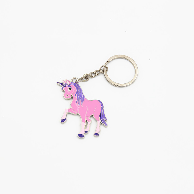 Aliexpress.com : Buy SHUANGR Fashion Unicorn KeyChain