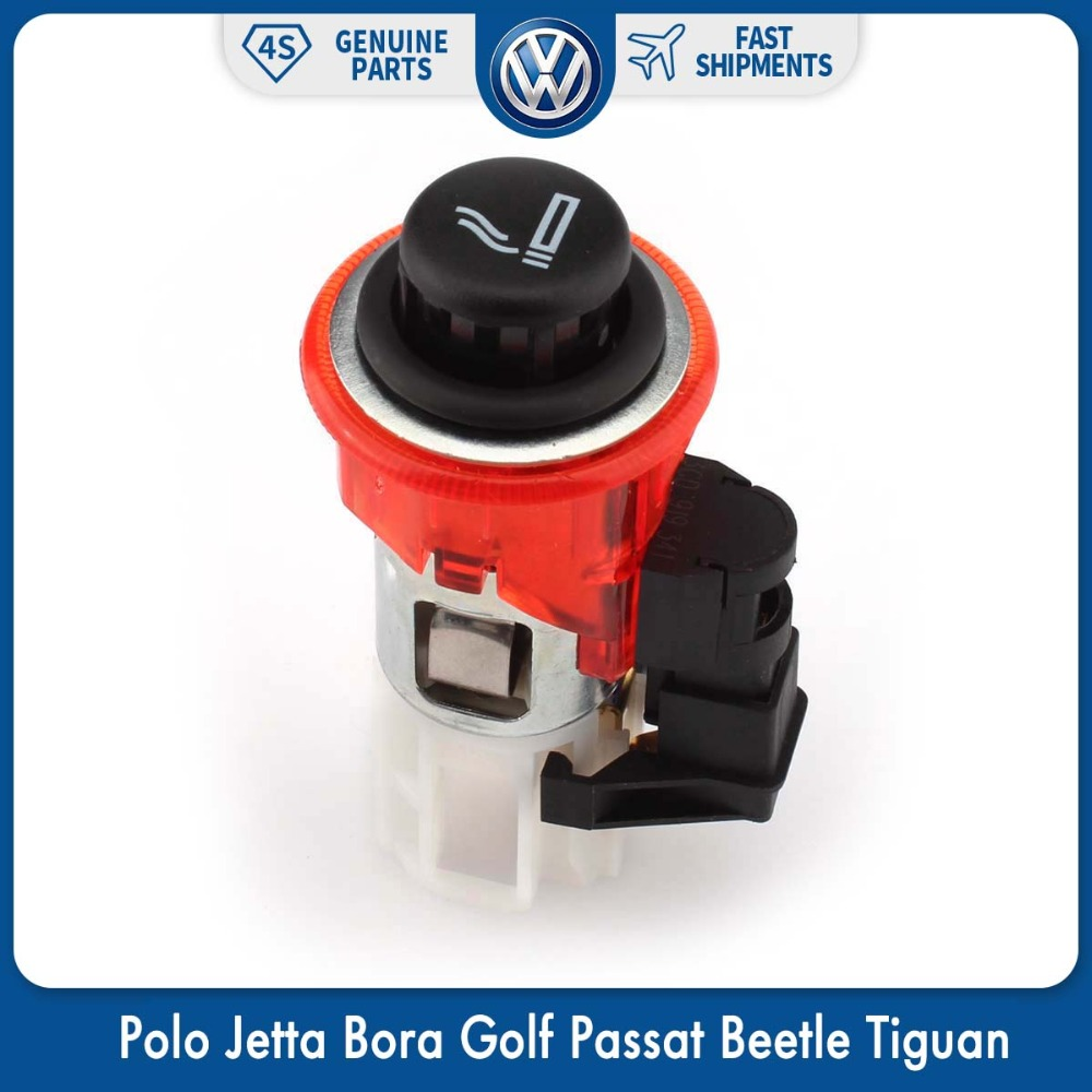 Cigarette <font><b>Lighter</b></font> <font><b>Car</b></font> Assembly for Volkswagen VW Polo Jetta Bora Golf Passat Beetle Tiguan Touran Caddy Scirocco 1J0 919 309 image