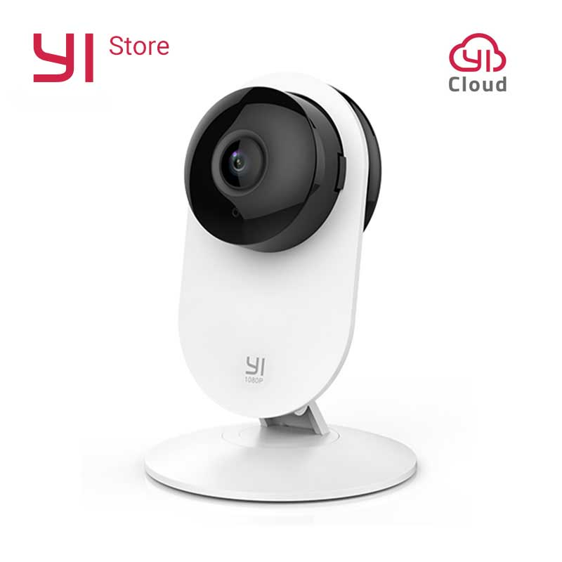 YI 1080p Home Kamera Baby Crying Detection Spitzendesign Nachtsicht WIFI Wireless IP-Sicherheitsüberwachungssystem Global
