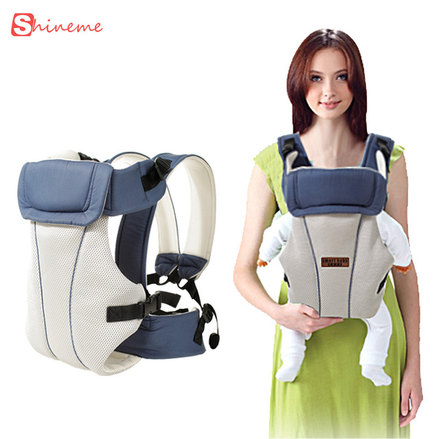 Breathable multi-functional front facing baby carrier infant baby sling backpack pouch wrap baby kangaroo for 0-30 months baby