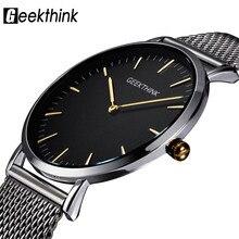 GEEKTHINK Top Luxury Brand Quartz watch