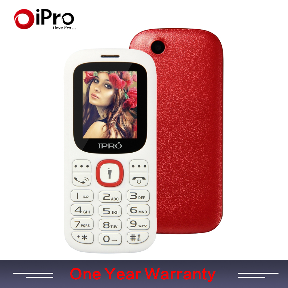 IPRO Brand 1 77 Inch Unlocked Mobile Phones GSM SC6531DA Bluetooth Cell Phone With English Spainish