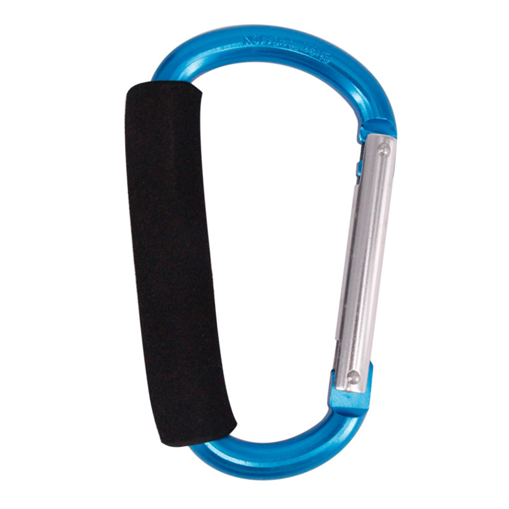 Carabiner Large Buckle Sponge D-Button Aluminum-Alloy Random-Color D-Ring-Shape Ultra-Big-Size title=