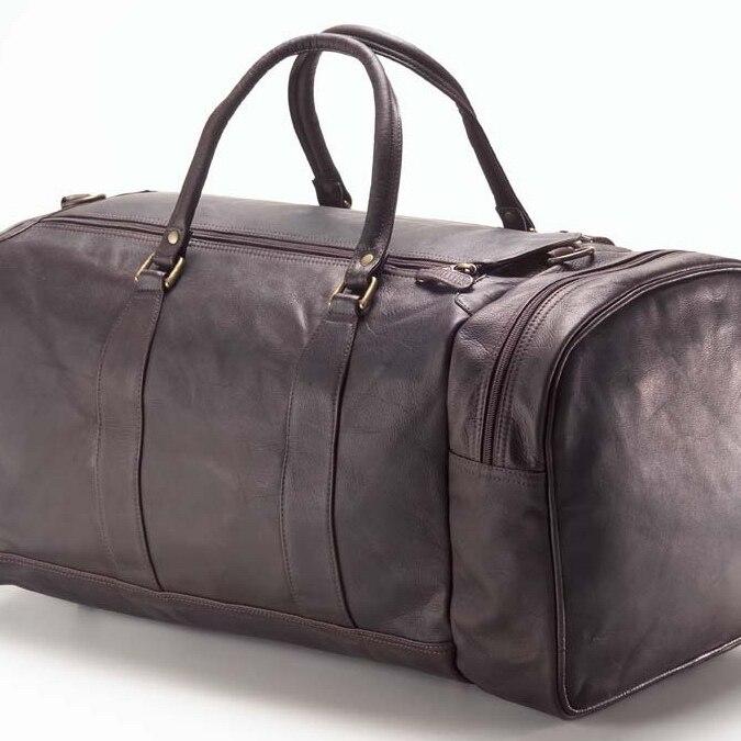 Clava AG-09 One Pocket Duffel - Vachetta Cafe clava 709 hip to be square backpack vachetta cafe