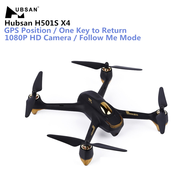 Original Hubsan H501S X4 RC Drone With Camera 1080P HD GPS/Follow Me Mode Quadcopter Toys 5.8G FPV 10CH Headless RC Helicopter hubsan h501s lipo battery 7 4v 2700mah 10c 3pcs batteies with cable for charger hubsan h501c rc quadcopter airplane drone spare