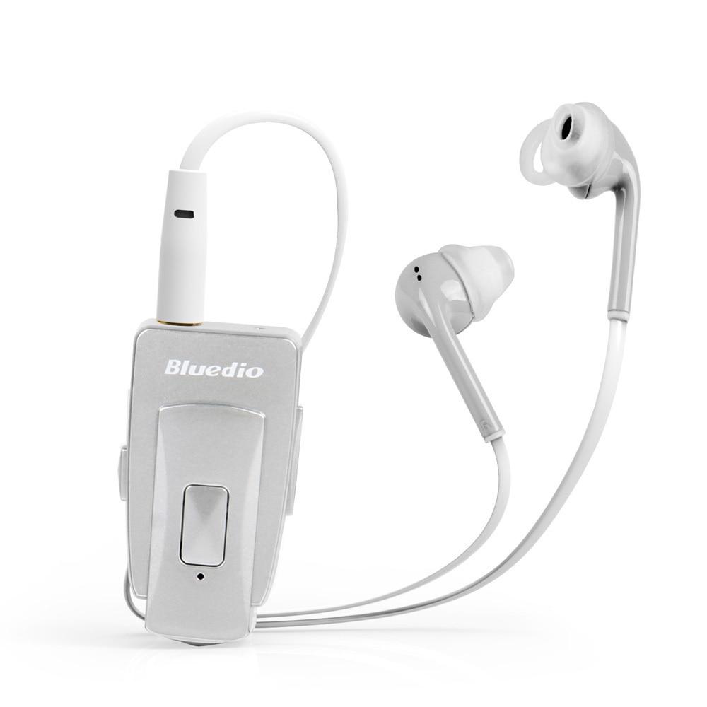 ФОТО Bluedio EH Bluetooth 4.0 stereo headset/In-Ear earphones NFC Wireless headset music streaming free for phone calls (Silver)