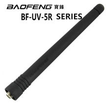 100% Original Baofeng Walkie Talkie SMA-F Ham HF Antenna UHF&VHF 136-174MHZ 400-520MHZ For UV-5R Two Way Radio Accessories(China)