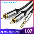 Vention RCA Cable 3.5 to 2RCA Audio Cable Jack 3.5mm Audio Stereo Cable for Smartphone Amplifier Home Theater DVD RCA Aux Cable