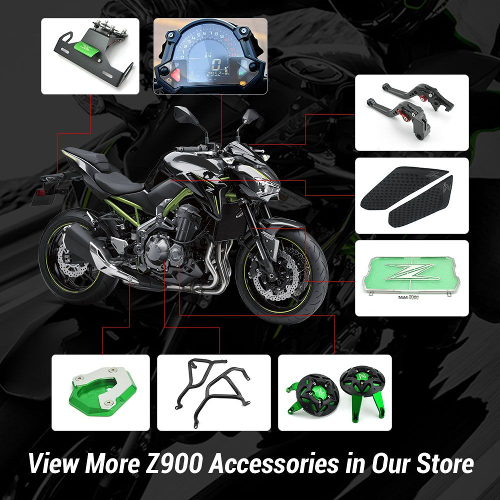100% de satisfaction prix de gros mignonne KEMiMOTO For Kawasaki Z900 2017 Z 900 Crash Bar For Kawasaki ...