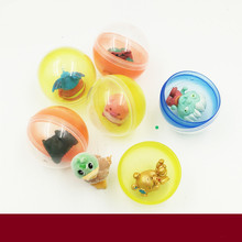 50pcs capsule ball toys,mini figures,cartoon animals hero car,kids collections,game toys for child boys girls,sports toy ball