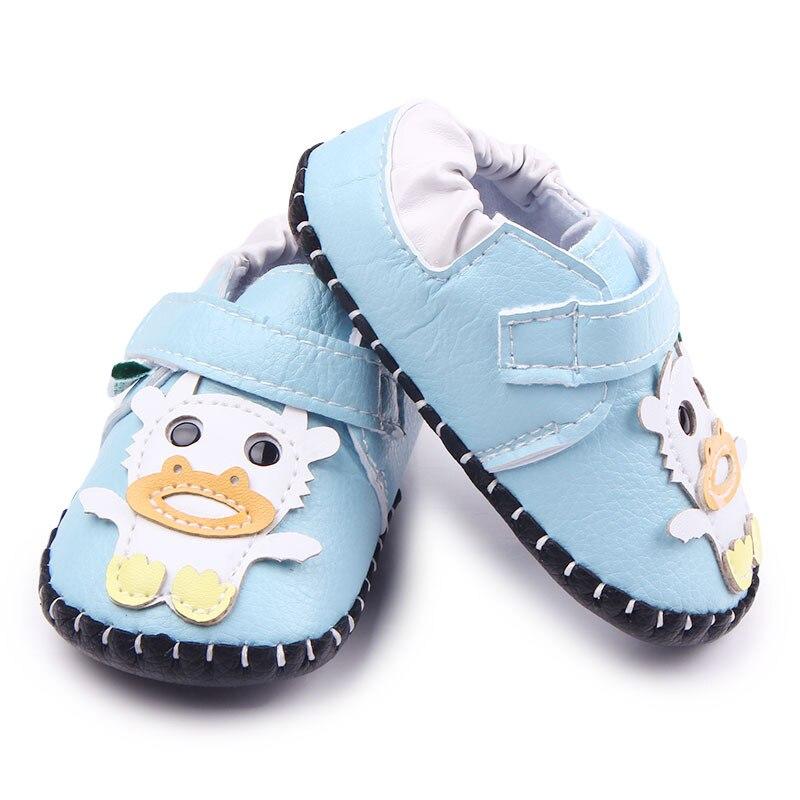 Baby Jungen Krippe Schuhe Mädchen Erste Wanderer Cartoon - Babyschuhe - Foto 3