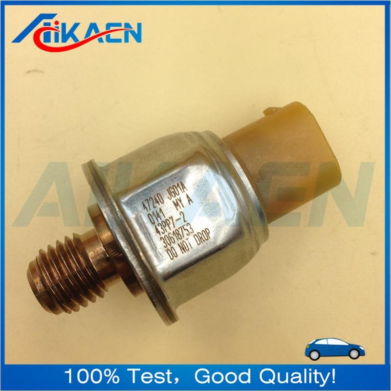 43pp7-2 yellow Original Fuel Rail Pressure Sensor For Nissan X-TRAIL JUKE T31 47240-JG01A 47240JG01A 43PP7-2