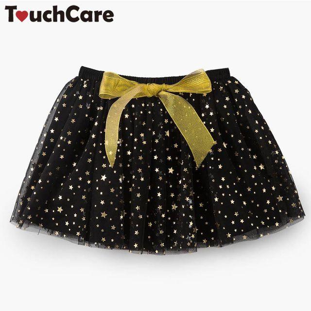 0a4e6f90ba591 Touchcare Newbron bébé fille jupes Bowknot dentelle bébé TuTu jupe bébé  fille vêtements petites étoiles anniversaire