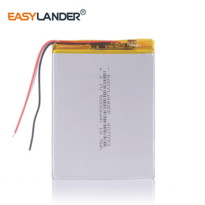 3wires 407093 3.7V 5000mAh tablet battery with Protection Board For child Tablet prestigio multipad color 2 3g pmt3777_3g_d