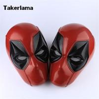 Takerlama Full Head Deadpool Superhero Mask Cosplay Props PVC Helmet Adult Party Halloween Props