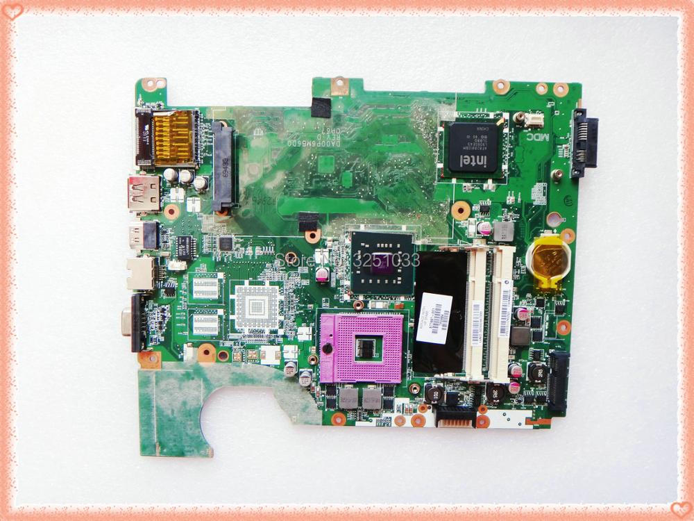 577997-001 DA00P6MB6D0 for HP G61 CQ61 motherboard DDR2 motherboard Compaq Presario CQ61 Notebook PC free shipping 574680 001 1gb system board fit hp pavilion dv7 3089nr dv7 3000 series notebook pc motherboard 100% working