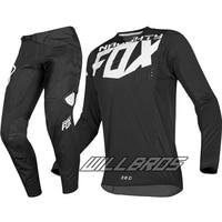 2019 MX 360 Kila Jersey Pants Motocross Dirt bike MTB ATV Adult Racing Gear Set Black